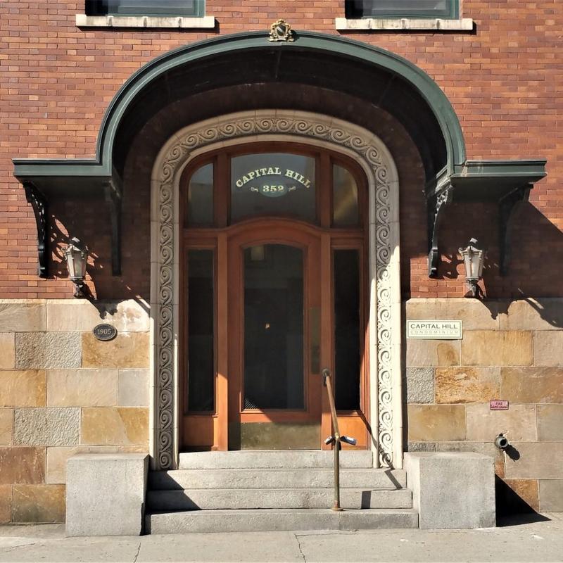 CH Condo Entrance