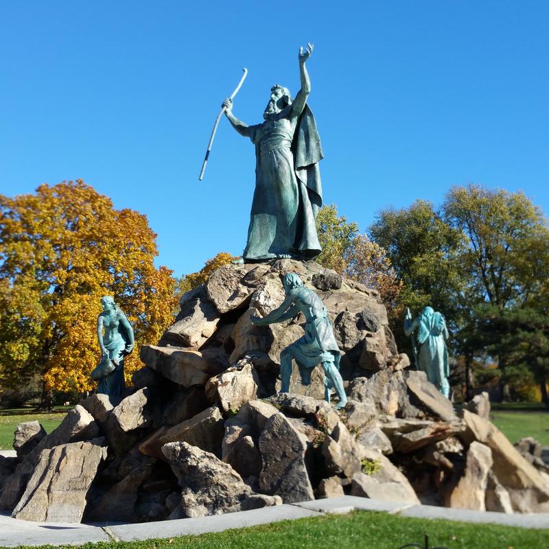 Washington Park Moses Monument